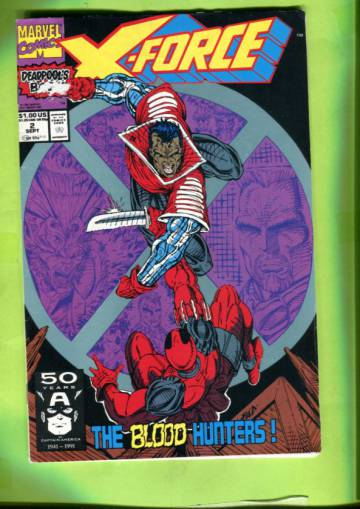 X-Force Vol 1 #2 Sep 91
