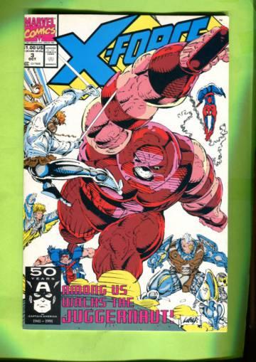 X-Force Vol 1 #3  Oct 91