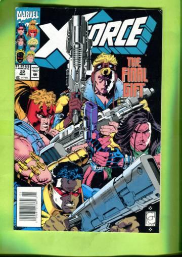 X-Force Vol 1 #22 May 93