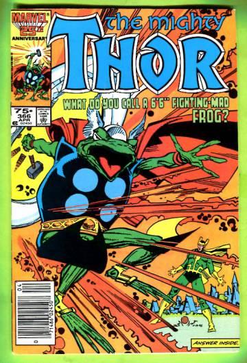Thor Vol 1 #366 Apr 86