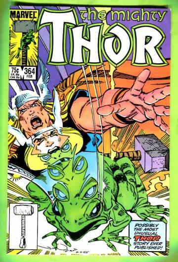 Thor Vol 1 #364 Feb 86