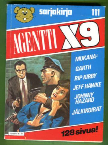 Semicin sarjakirja 111 - Agentti X9
