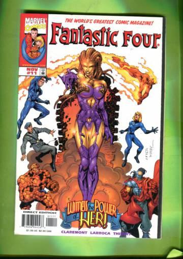 Fantastic Four Vol 3 #11  Nov 98