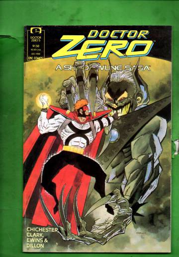 Doctor Zero Vol. 1 #5 Dec 88
