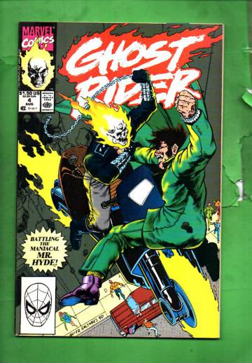 Ghost Rider Vol. 2 #4 Aug 90