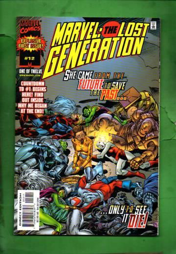 Marvel: The Lost Generation Vol. 1 #12 Mar 00