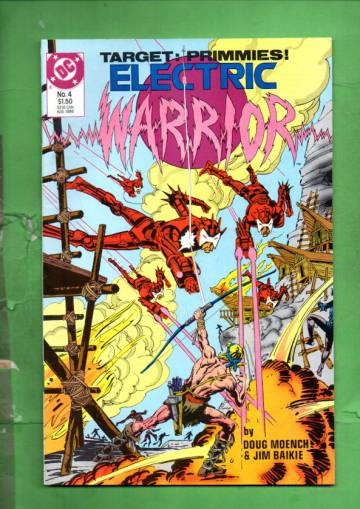 Electric Warrior #4 Aug 86