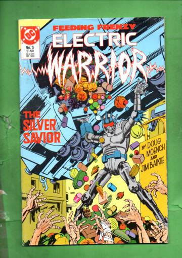 Electric Warrior #5 Sep 86
