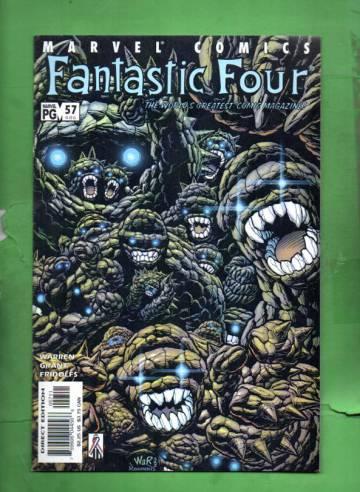 Fantastic Four Vol. 3 #57 Aug 02