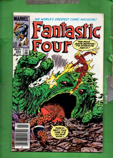 Fantastic Four Vol 1 #264 Mar 84