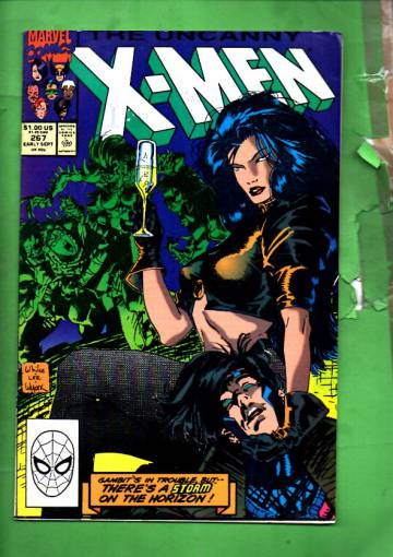 The Uncanny X-Men Vol 1 #267 Ear Sep 90