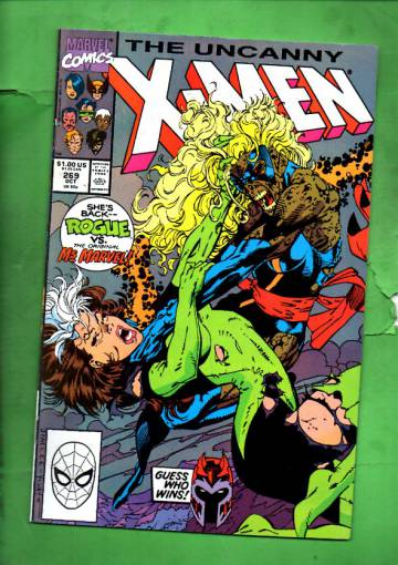 The Uncanny X-Men Vol 1 #269 Oct 90