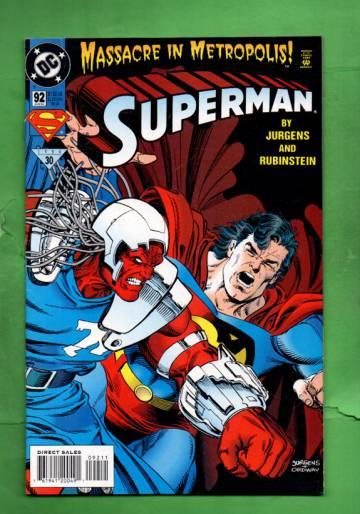 Superman #92 Aug 94