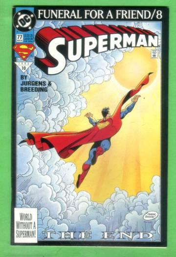Superman No. 77, March 1993
