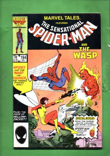 Marvel Tales Starring Spider-Man Vol. 1 #194 Dec 86