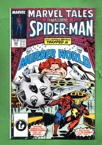 Marvel Tales Starring Spider-Man Vol. 1 #202 Aug 87