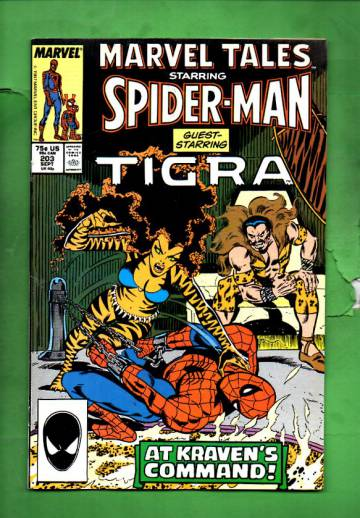 Marvel Tales Starring Spider-Man Vol. 1 #203 sep 87