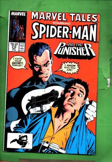 Marvel Tales Starring Spider-Man Vol. 1 #218 Dec 88