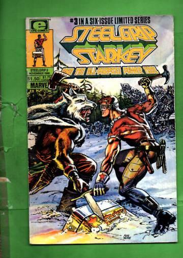 Steelgrip Starkey Vol. 1 #3 Nov 86