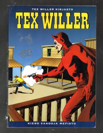 Tex Willer Kirjasto 2 - Kiero vakooja Mefisto