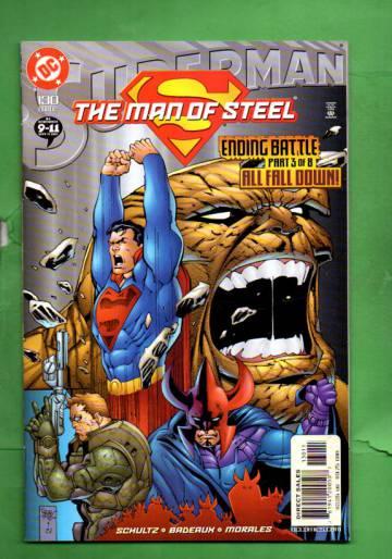 Superman: The Man of Steel #130 Nov 02