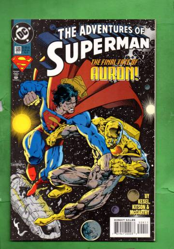 Adventures of Superman #509 Feb 94