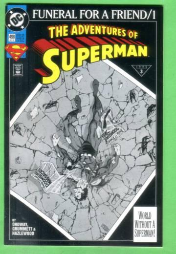 Adventures of Superman No. 498, January 1993
