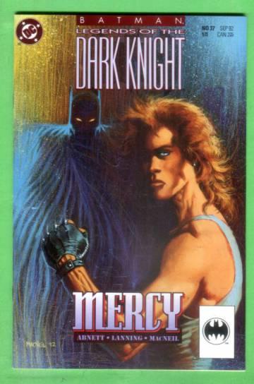 Batman: Legends of the Dark Knight No. 37, September 1992