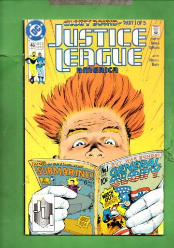 Justice League America #46 Jan 91
