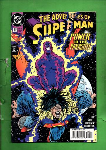 Adventures of Superman #512 May 94