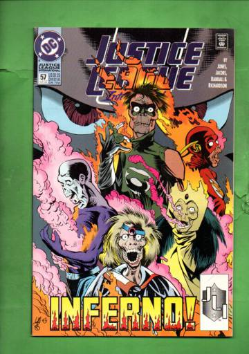Justice League International #57 Late Oct 93
