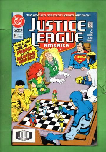 Justice League America #61 Apr 92