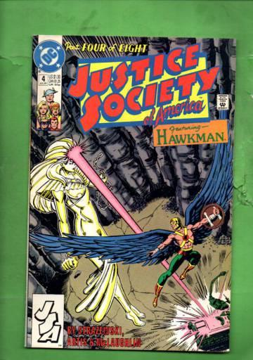 Justice Society of America #4 Jul 91