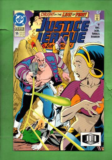 Justice League International #55 Late Sep 93