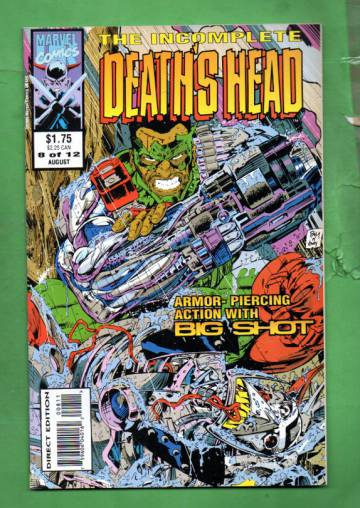 Incomplete Death's Head Vol. 1 #8 Aug 93