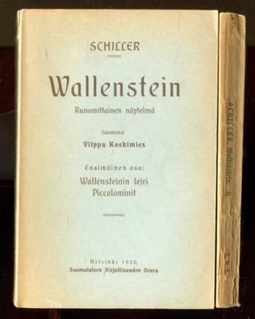 Wallenstein - Runomittainen näytelmä 1-2