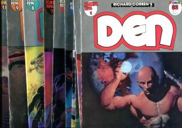 Den #1-10 88-89 (whole series)