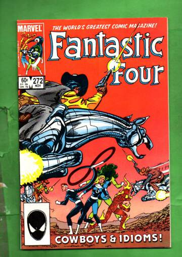 Fantastic Four Vol 1 #272 Nov 84