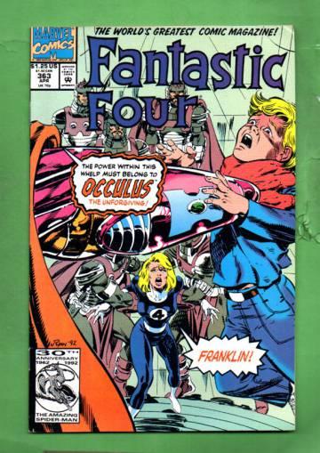 Fantastic Four Vol 1 #363 Apr 92
