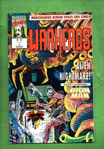 Warheads Vol. 1 #3 Aug 92