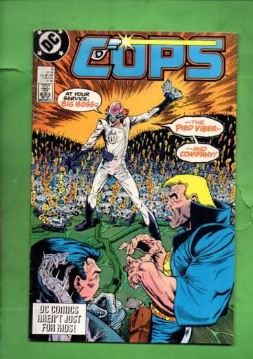 Cops #3 Oct 88