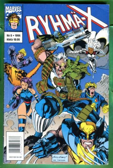 Ryhmä-X 8/94 (X-Men)