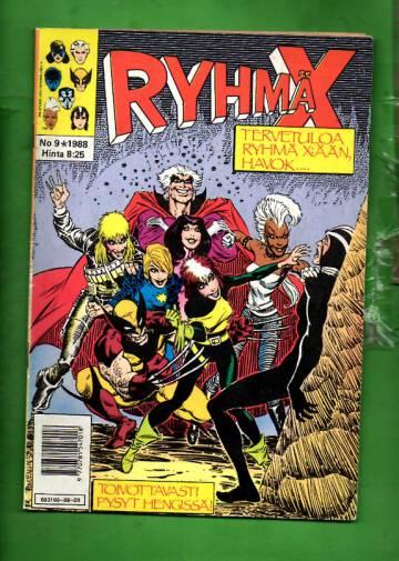 Ryhmä-X 9/88 (X-Men)