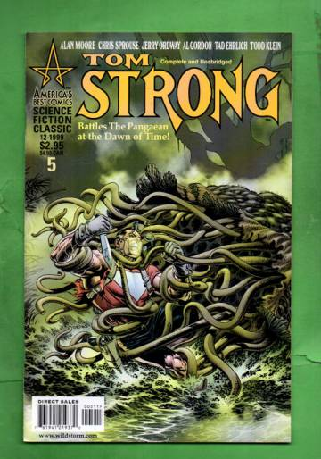 Tom Strong #5 Dec 99