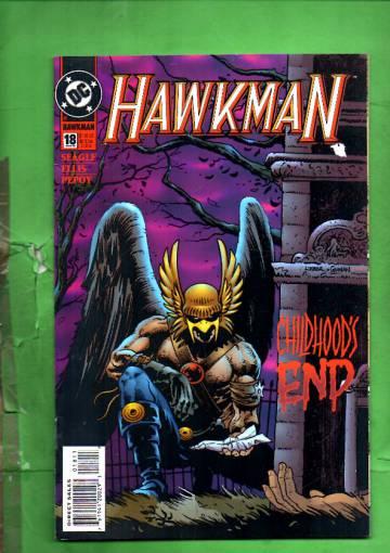 Hawkman #18 Mar 95