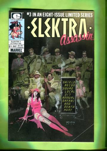 Elektra Assassin Vol 1 #3 (of 8) Oct 86
