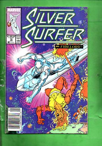 Silver Surfer Vol. 3 #19 Jan 89