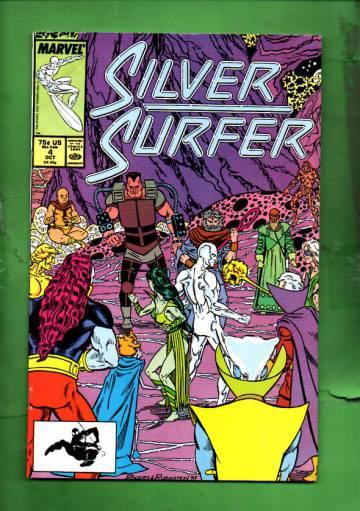 Silver Surfer Vol. 3 #4 Oct 87