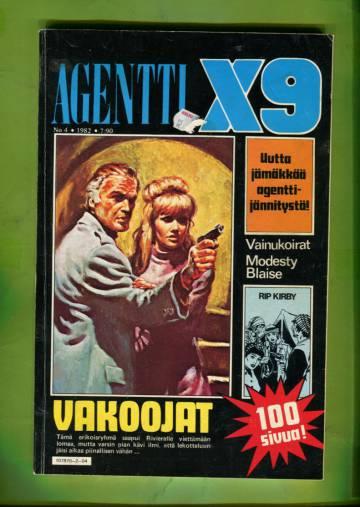 Agentti X9 4/82 (Modesty Blaise)