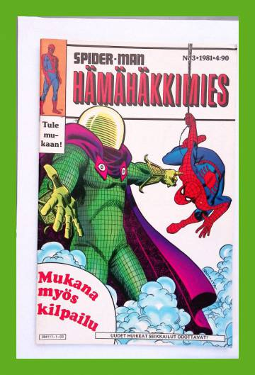 Hämähäkkimies 3/81 (Spider-Man)